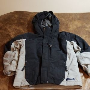 Boys Lands End zipout lining Winter coat, size 4